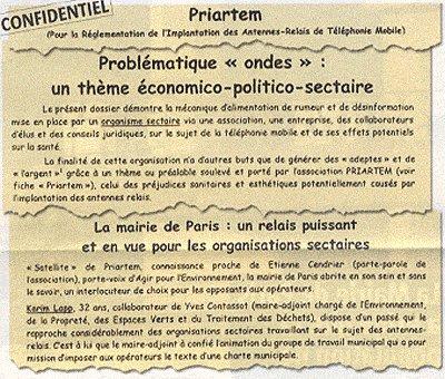 'Portables / Ces antennes qui font peur' - Le Point - 25/04/2003
