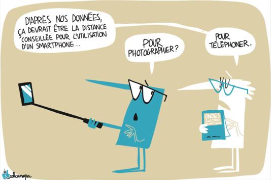 'Soupçons sur les ondes des téléphones portables' - Le Monde - 23/12/2016
