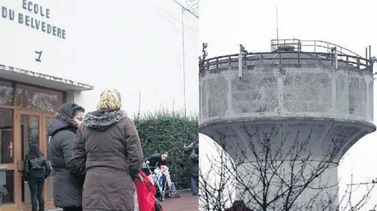 DRAVEIL (ESSONNE), HIER. Quatre enfants scolarisés à l'école du Belvédère et cinq parents d'élèves ont eu un cancer. Les antennes-relais voisines sont pointées du doigt.