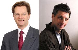 Jean-Marie Danjou et Etienne Cendrier (Afom et Thierry Mercier/Robin des toits)