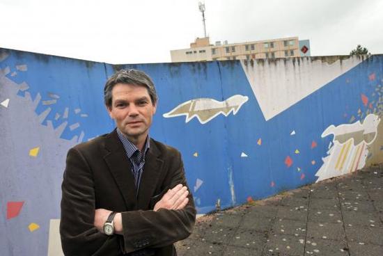 Rodolphe Thomas, maire d'Hérouville-Saint-Clair - AFP/MYCHELE DANIAU