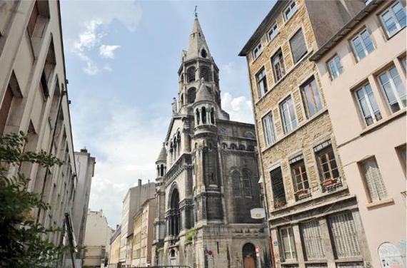 Cette église de la rue Neyret (1er) n'a pas accueilli de culte depuis vingt ans.  L. CERINO / 20 MINUTES