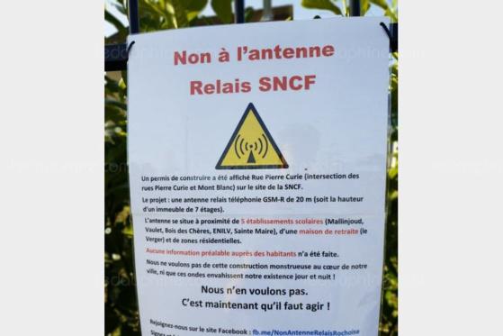 La Roche-sur-Foron : mobilisation citoyenne contre l'antenne du Léman Express - ledauphine.com - 26/02/2019