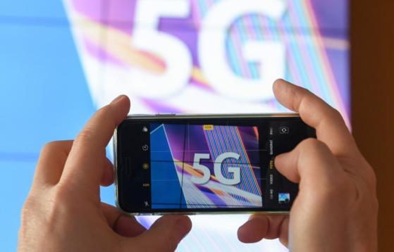 Illustration sur la 5G. — Arne Dedert / dpa / AFP