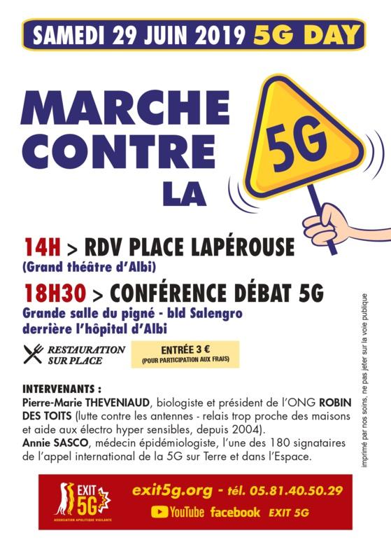 Samedi 29 juin 2019 : 5G DAY à Albi
