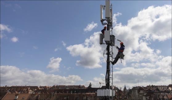Que pensez-vous de la technologie mobile 5G? Participez à notre enquête. (Photo: Keystone/Peter Klaunzer)