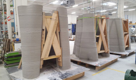 XtreeE imprime en 3D des pylônes plus esthétiques pour accueillir la 5G - 3dnatives.com - 26/08/2019