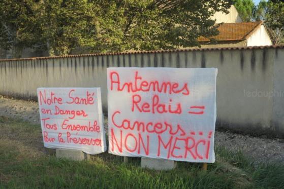 Les riverains du quartier des Marjoraines sont déterminés. Photo Le DL /J.G.
