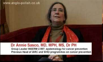 VIDEO : Mobile & Wifi : the truth - Interview with Dr Annie Sasco - 2012