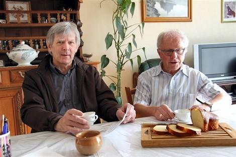 Pierre Leroy et Michel Letondu porte-parole du collectif