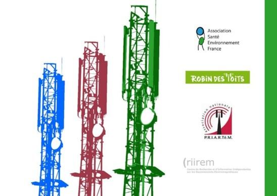 """Communiqué de Presse (2500 médecins + 3 associations) : """"Antennes relais: les associations unies au nom de la loi...."""" - 09/10/2012"""