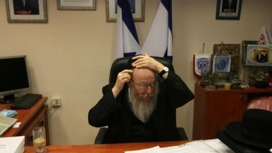 Le vice-ministre Yaakov Litzman en 2011. (crédits photo : Kobi Gideon/Flash 90)