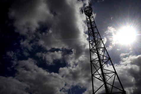 Une antenne relais, dans le Finistère, en 2009. (Photo Fred Tanneau. AFP)
