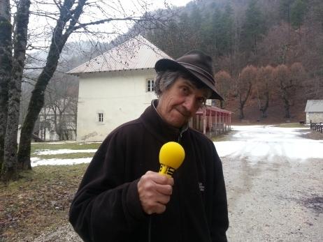 Jean-Claude Gast, le maire de St Julien en Beauchêne veut bien faire des sanatoriums pour malades des ondes © Radio France Anne-Laure Barral