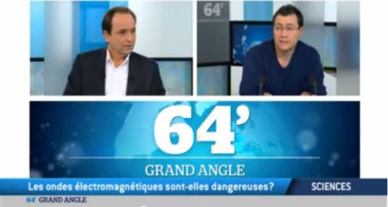 """VIDEO : """"Les ondes électromagnétiques sont-elles dangereuses ?"""" - Le Grand Angle du 64' - TV5MONDE - 27/01/2014"""