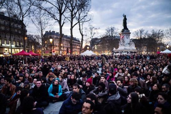 Nuit Debout : interview d'Etienne Cendrier, porte-parole de Robin des Toits - 23/04/2016