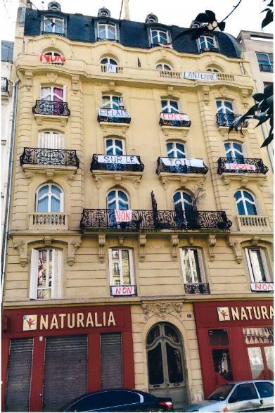 Le 43, boulevard de Clichy, lieu de l'implantation de la future antenne. ©Collectif43santé