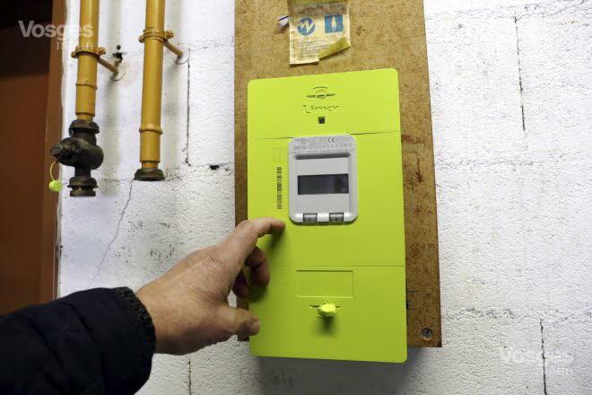 Le nouveau compteur électrique Linky de Enedis est très controversé. Photo JP/RL
