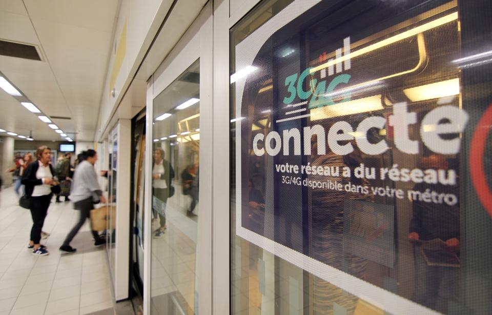 Le métro de Rennes est connecté aux réseaux 3G et 4G depuis le 1er octobre 2018. — C. Allain / 20 Minutes