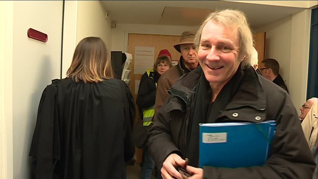 José mercier, le maire de Bovel, au tribunal administratif de Rennes / © F3