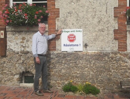 Le maire de Chauconin-Neufmontiers, Michel Bachmann, s'oppose à la pose des compteurs Linky. (©La Marne)