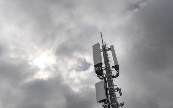Une antenne 5G de Swisscom déployée à Genève. (Photo: Keystone/Martial Trezzini)