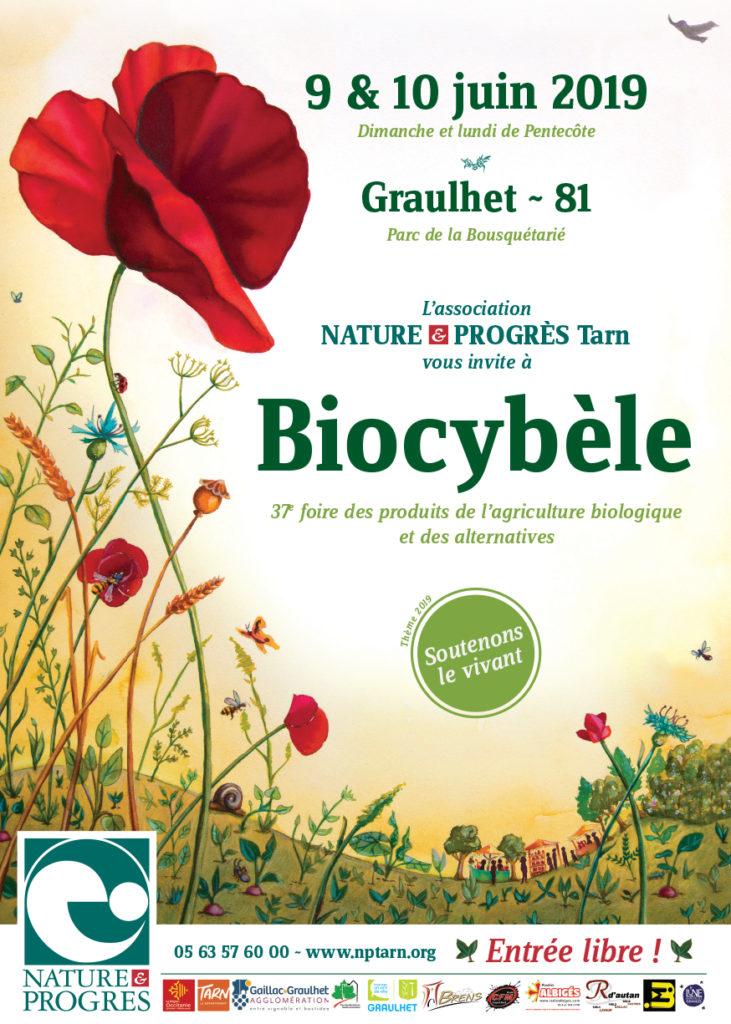 Robin des Toits Midi-Pyrénées et Tarn seront présents les 9 et 10 juin à Biocybèle à Graulhet 81