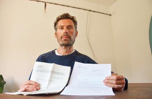 Face à la situation de son épouse et de sa famille, Frédéric Ballestracci a envoyé un courrier à Emmanuel Macron, réclamant un « droit aux zones blanches ». (Photo Monique Kéromnès)