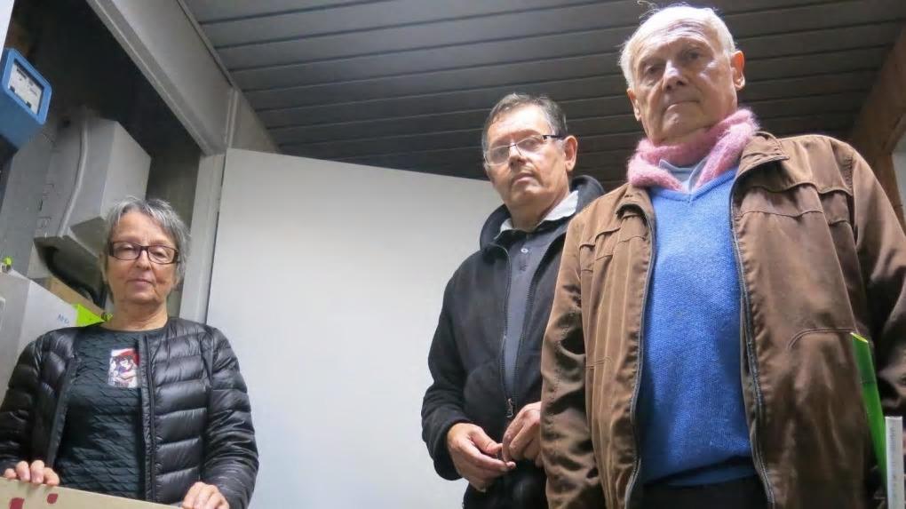 Au Floréal, Martine, Jean-Michel et Michel toujours déterminés à dire non aux Linky.