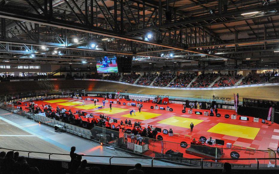 Montigny-le-Bretonneux. Le Vélodrome national de Saint-Quentin-en-Yvelines servira de terrain d'expérimentation pour la 5G, la nouvelle génération de réseau mobile. Icon Sport