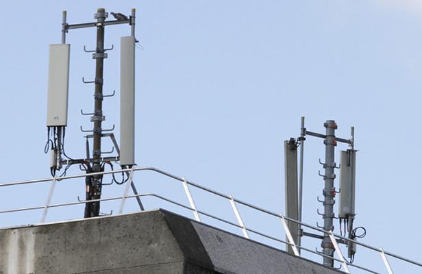 Des antennes de téléphonie mobile à Lille. M.Libert/20 Minutes