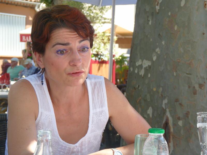 Nathalie Ouzoulias, présidente de l'association Robin des Toits. Eloïse Levesque/Objectif Gard