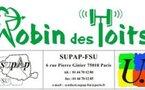 """""""Delanoë lance son appel du 18 juin !"""" - Communiqué de presse de l'Association Nationale """"Robin des Toits et du syndicat """"Supap-FSU"""" - 18/06/2010"""