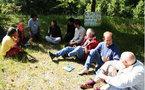Electrosensibles - Réfugiés en forêt de Saoû - Le Dauphiné Libéré - 25/06/2010