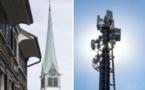 Cacher des antennes 5G dans les clochers d'église ? 20min.ch - 26/04/2019