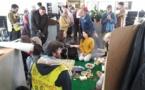 Albi : des militants anti-linky pique-niquent dans les locaux d'ENEDIS - ladepeche.fr - 06/05/2019