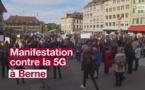 Des centaines de personnes manifestent contre la 5G à Berne - rts.ch - 10/05/2019