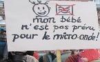 Manifestation à Bruxelles pour la baisse de la pollution électromagnétique - 16/11/2011