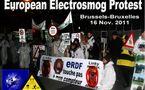315 ONG signent une lettre au commissaire européen de la Santé Dalli sur les risques sanitaires des champs électromagnétiques - Bruxelles - 15/11/2011