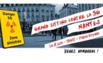 Samedi 8 juin à Nantes : Grand sitting contre la 5G