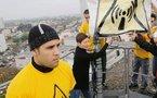 Une antenne-relais symboliquement bâchée - SUD OUEST - 26/11/2011