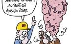"""""""La tête dans le micro-ondes"""" - CQFD - Avril 2012"""