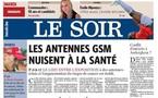 Santé - 'Signaux d'alarme pour les mobiles' - Le Soir (Belgique) du 03/10/2006